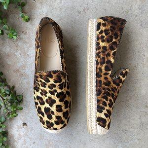 Stuart Weitzman Leopard Espadrilles